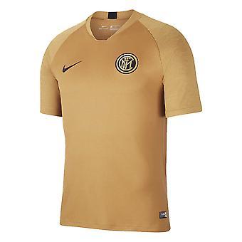 2019-2020 Inter Milan Nike koulutuspaita (pronssi)