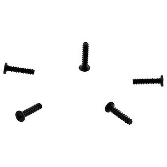 Tri-wing screw set for nintendo switch joy-con controller housing replacement tri point - 5 pack black | zedlabz