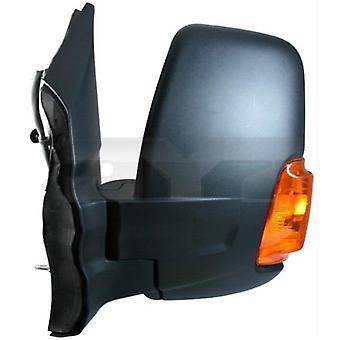 Venstre speil (manuell gul indikator) for Ford TRANSIT Flatvogn lastebil/Chassis 2014-2020