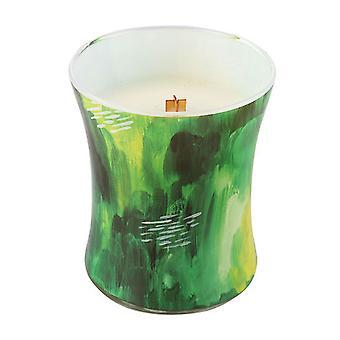 WoodWick 10oz Medium Handwerker duftende Kerze Jar mit Holz Deckel Crackle Wick