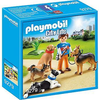 プレイモービル 9279 ペット ホテル犬の調教師