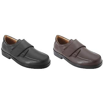 Roamers Mens Extra Wide Fitting Touch Fastening Casual Shoes