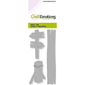 CraftEmotions يموت -- لافتات ، بطاقة بولارد 5x10cm