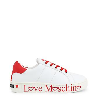 Kærlighed Moschino Original Kvinder Forår / Sommer Sneakers Hvid Farve - 72586