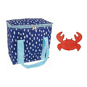 Porta Seaside Cooler Bag and Ice Block Set