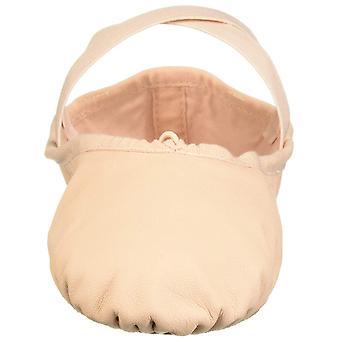 Leo Women's Ensemble Split Sole Dance Shoe Ballet Pink 4 D US
