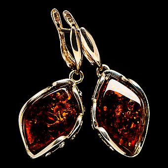 Baltic Amber Earring 1 7/8