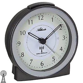 Атланта 1855/4 будильника радио радио будильник антрацит серебра с легкими повтора тихо