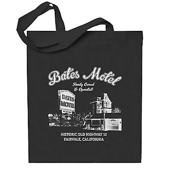 Psycho Bates Motel Family Owned And Operated Totebag