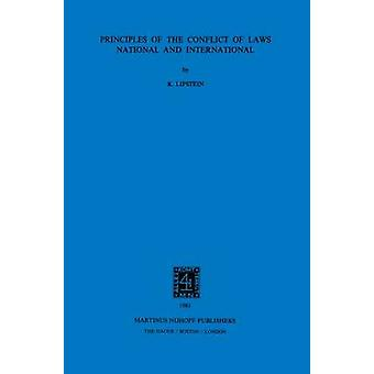 Principles Conflict Of Laws Nat  Intl Revised Ed The Gen Prin by Lipstein & Kurt