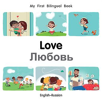 Mijn eerste tweetalige BookLove EnglishRussian door Milet Publishing Ltd