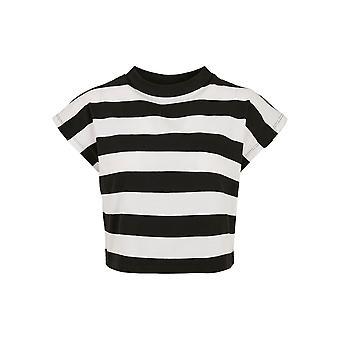 Urban Classics Women's T-Shirt Stripe Short