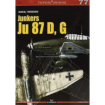 Junkers Ju 87 D - G by Maciej Noszczak - 9788366148420 Book