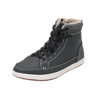 H.I.S WINTER BOOTIES Women's Boots Grey Lace-Up Boots Winter