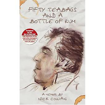 50 sacos de chá e uma garrafa de Rum