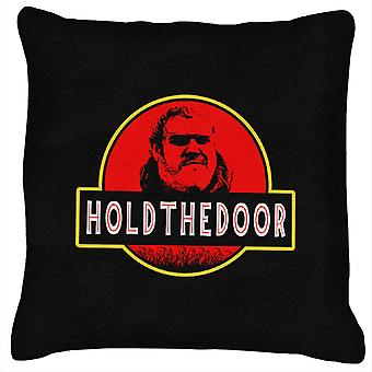 Hodor Jurassic Park Hold The Door Game Of Thrones Cushion