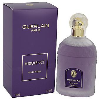 Insolence Eau De Parfum Spray (New Packaging) By Guerlain 3.3 oz Eau De Parfum Spray