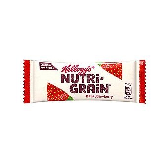 Kelloggs Nutri Grain Bar Strawberry Pack 5 Frukost Snack