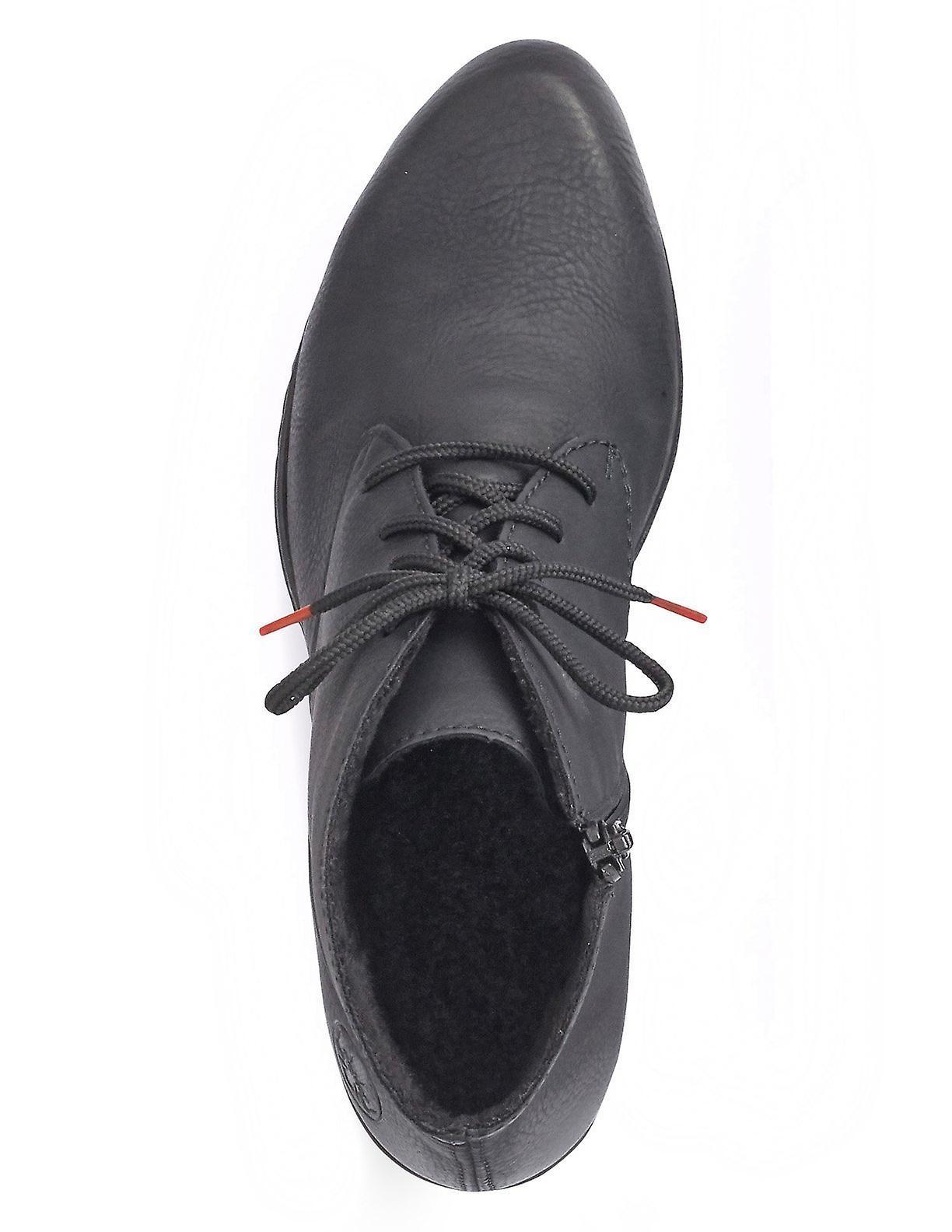 Rieker namur boots womens black
