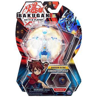 Bakugan Ultra 1 Pack 3 Inch Figure Diamond Serpenteze