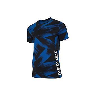 4F TSM008 H4L20TM008KOBALTALLOVER universale tutto l'anno t-shirt uomo