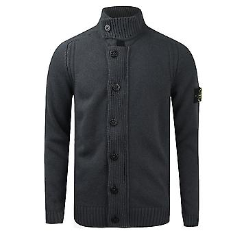 Steininsel | 7115564a3 Button & Zip Up Lambswool gestrickte Pullover