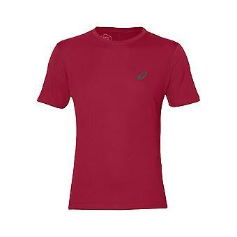 アシックスシルバーSSトップ2011A006001トレーニング夏の男性Tシャツ