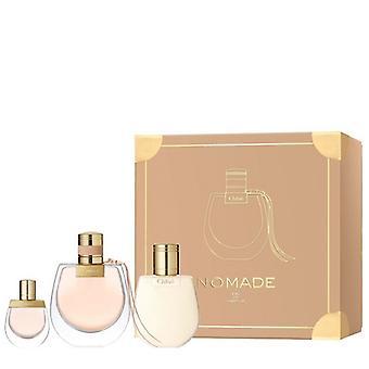 Chloe - Nomade EDP SET 75 ml, Nomade EDP 5 ml mini + Nomade 100 ml Körperlotion - 75ML