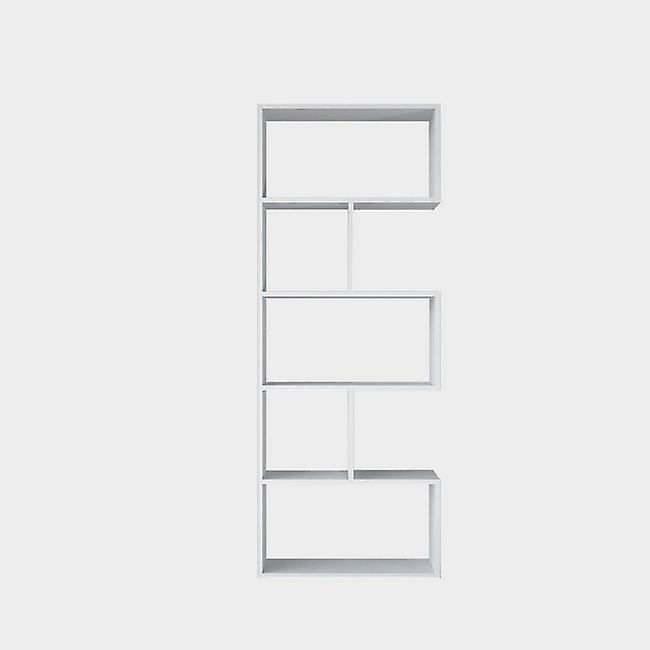 Libreria Scale Color Bianco in Truciolare Melaminico 62x28x161 cm