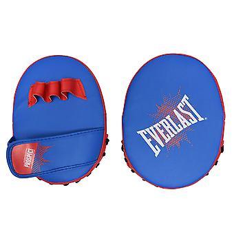 Everlast Pros Mitt Kit Hook And Jab Pads Adjustable Wrist Strap Padded Training
