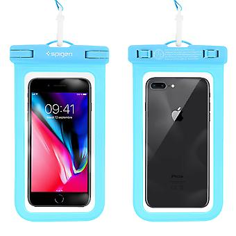 Smartphone Protective Cover Waterproof Protection IPX8 A600 Spigen blue