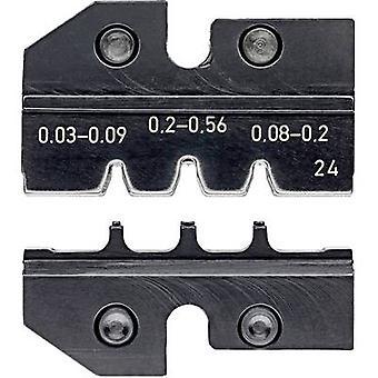 Knipex 97 49 24 Crimp inset D-Sub pluggar Passar för (tång) HD 20, HDE plugg 0,03 upp till 0,56 mm² Lämplig för märke Knipex 97 43 200, 97 43 E, 97 43 E AUS, 97
