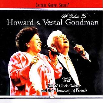Bill Gaither & Gloria - Tribute to the Goodmans [CD] USA import
