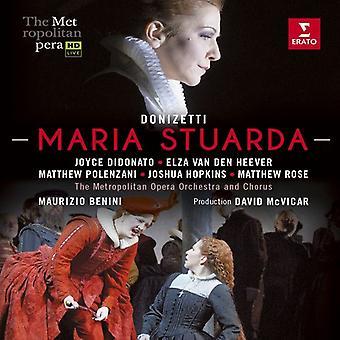 Maria Stuarda (the Metropolitan Opera) [Blu-ray] USA import