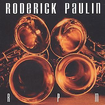 Roderick Paulin - Rpm [CD] USA import
