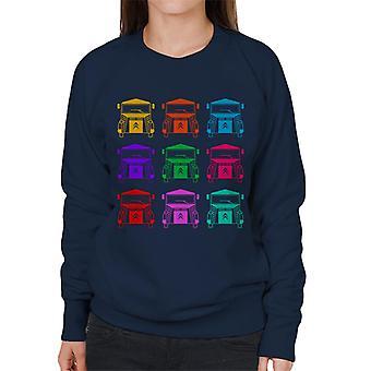 Citro?n Vintage Type H Van Farge mønster Kvinner's Sweatshirt