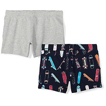 Merke - Oppdaget Zebra Girls' Big Kid 2-Pack fransk Terry Strikke shorts, ...