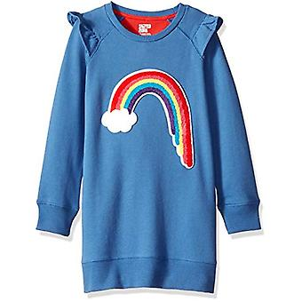 Brand - Spotted Zebra Girls' Toddler French Terry Knit Ruffle Raglan D...