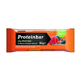 Proteinbar wild berries 1 bar of 50g (Wild berries)