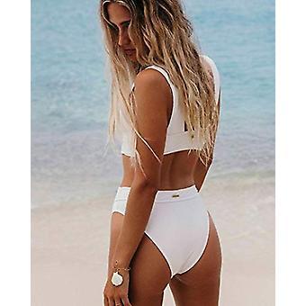 Billabong Women's Too Salty Maui Rider Bikini Bottom White Medium