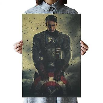 Marvel Film Vintage Poster Avengers Collezione War Wall Sticker