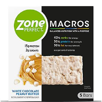 Zone Perfect Macros Barres Beurre d'arachide au chocolat blanc