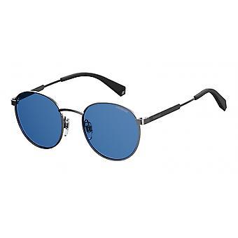نظارات شمسية Unisex 2053/Spjp/C3 فضة/أزرق