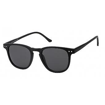 Sonnenbrille Unisex  Wayfarer   grau/schwarz (20-206)