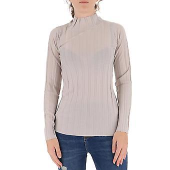 Fabiana Filippi Mad220b602n9072157 Women's Grey Cashmere Sweater