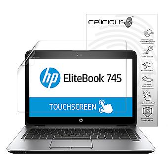 Celicious Vivid Plus Mild Anti-Glare Screen Protector Film Compatible with HP EliteBook 745 G3 (Non-Touch) [Pack of 2]