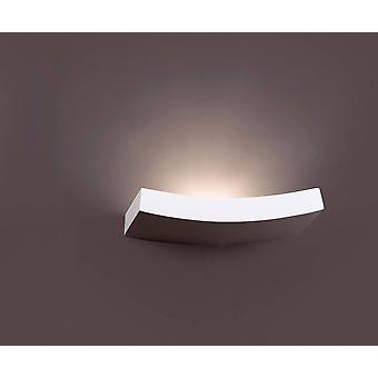 Faro Eaco-3 - 1 Light Indoor Mur Light White Plaster