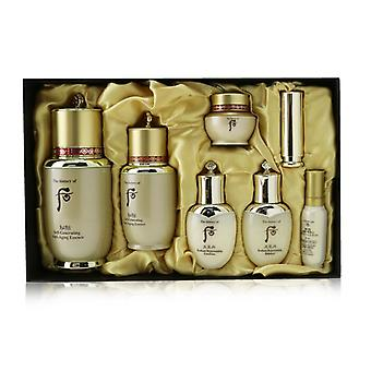 Whoo (The History Of Whoo) Bichup Self-Generating Anti-Aging Essence Set: Essence (50ml+20ml) + Balancer 25ml + Emulsion 25ml + Moisture Essence 8ml + Cream 8ml + Lip Balm 1.3g 7pcs