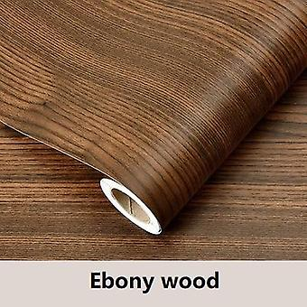 Waterproof Wood Vinyl Wallpaper Roll Self Adhesive Contact Paper Decorative Sticker
