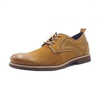 Chatham Marine Magnus Mens Smart-casual Lace-up schoen in Tan Leder